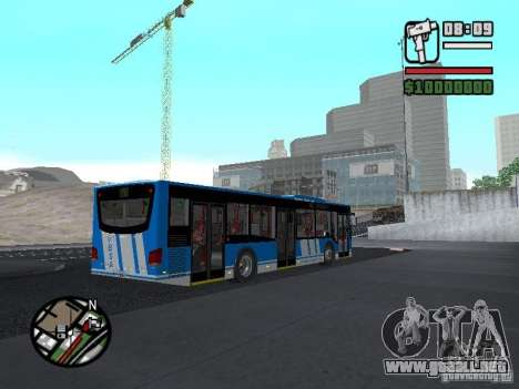 Design-X4-Dreamer para GTA San Andreas vista hacia atrás