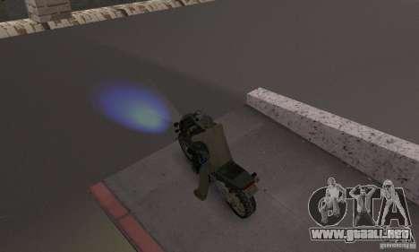 Faros azules para GTA San Andreas segunda pantalla