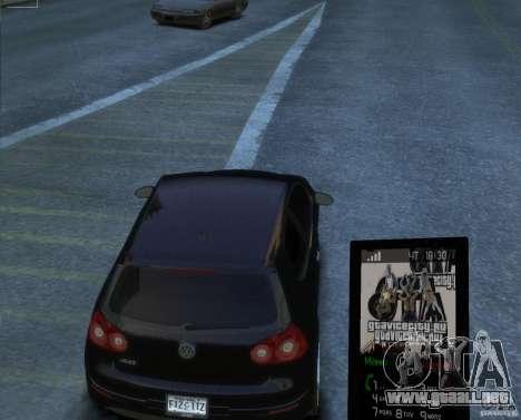 Tema GTAViceCity.RU para GTA 4 segundos de pantalla