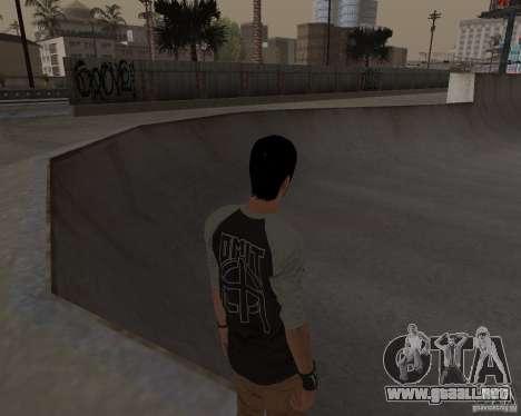 Tony Hawks Cole para GTA San Andreas quinta pantalla