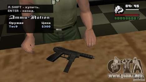 Asamblea de HD para GTA San Andreas sexta pantalla