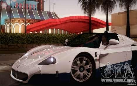 Maserati MC12 V1.0 para las ruedas de GTA San Andreas