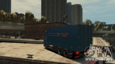 Scania R580 para GTA 4 left
