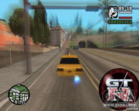 Velocímetro GT-R para GTA San Andreas segunda pantalla