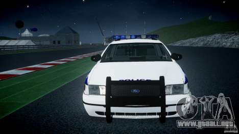 Ford Crown Victoria NYPD [ELS] para GTA 4