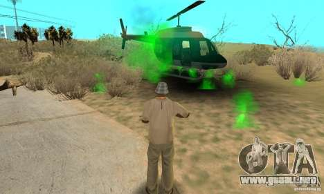 SpecDefekty para GTA San Andreas quinta pantalla