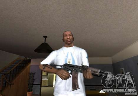Weapon Pack by viter para GTA San Andreas octavo de pantalla
