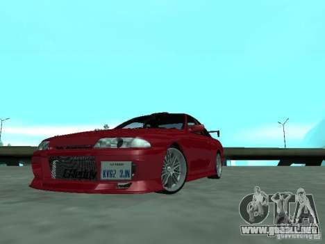 Nissan Skyline R32 Tuned para GTA San Andreas left
