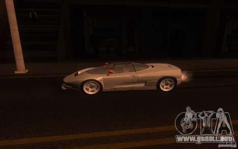 BMW Italdesign Nazca C2 1993 para GTA San Andreas left