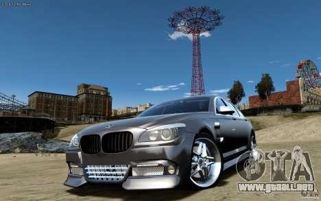 Pantallas de menú y arranque HAMANN BMW en GTA 4 para GTA San Andreas sucesivamente de pantalla
