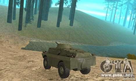 BRDM-2 Standard Edition para la visión correcta GTA San Andreas