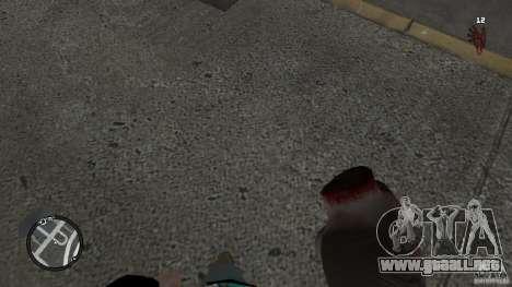 Granate teste mozzate para GTA 4 adelante de pantalla