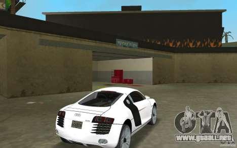 Audi R8 Le Mans para GTA Vice City visión correcta
