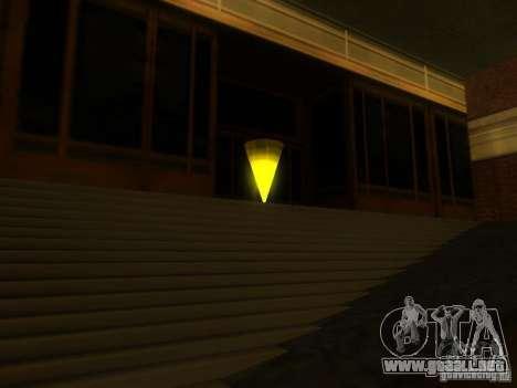 La entrada a la zona de la policía en San Fierro para GTA San Andreas segunda pantalla