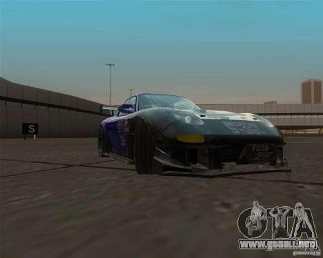 Mazda RX-7 FD3S special type para GTA San Andreas vista hacia atrás