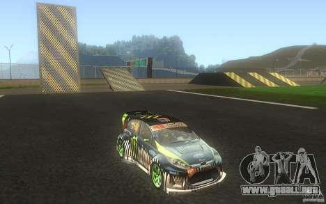 Ford Fiesta Gymkhana para visión interna GTA San Andreas