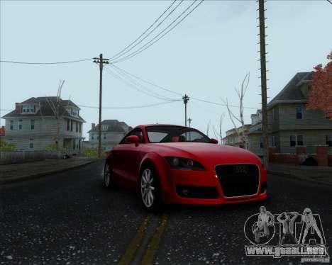 Audi TT para GTA San Andreas left