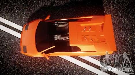 Lamborghini Diablo 6.0 VT para GTA 4 visión correcta
