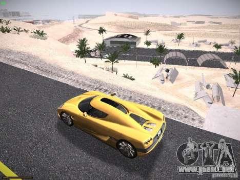 LiberrtySun Graphics ENB v3.0 para GTA San Andreas sucesivamente de pantalla