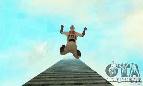 Isla (mes en el agua) para GTA San Andreas quinta pantalla