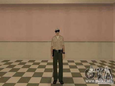 Los Angeles Police Department para GTA San Andreas sucesivamente de pantalla