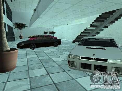 Más coches en el salón del automóvil de Doughert para GTA San Andreas segunda pantalla