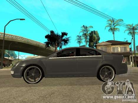 Ford Fusion 2008 Dub para GTA San Andreas left