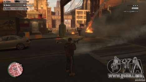 First Person Shooter Mod para GTA 4 segundos de pantalla