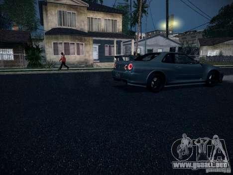 Nissan Skyline Z-Tune para visión interna GTA San Andreas