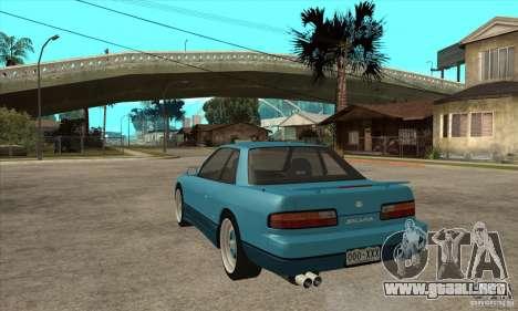 Nissan Silvia S13 1992 Club Ks para GTA San Andreas vista posterior izquierda