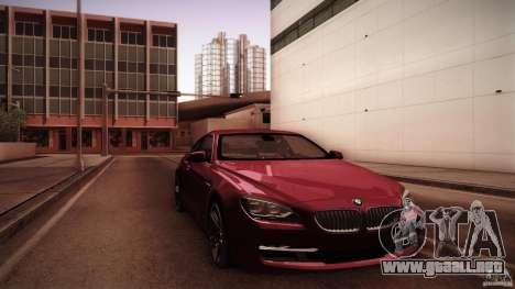 BMW 640i Coupe para GTA San Andreas