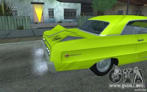 Chevrolet Impala SS 1964 para visión interna GTA San Andreas