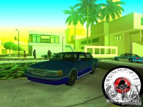 Nuevo Cpidometr para GTA San Andreas segunda pantalla