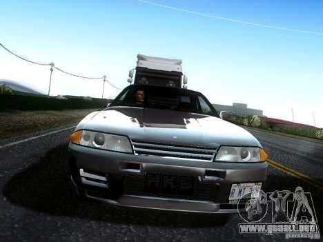 Nissan Skyline GT-R R32 1993 Tunable para la visión correcta GTA San Andreas