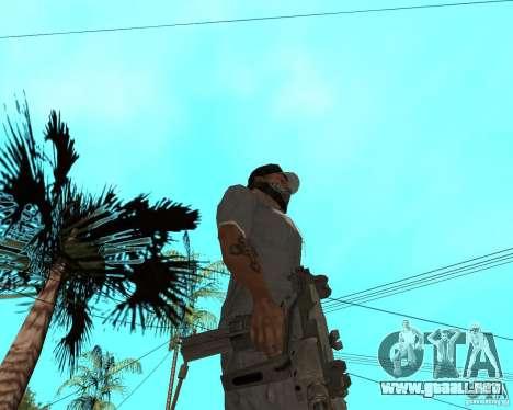 Mini-Uzi para GTA San Andreas segunda pantalla