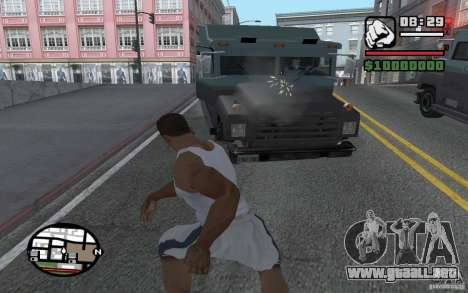 Tirando palas para GTA San Andreas