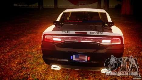 Dodge Charger 2012 Florida Highway Patrol [ELS] para GTA motor 4