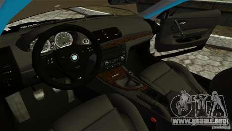 BMW 135i HellaFush para GTA 4 visión correcta