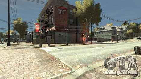 Pizza Hut para GTA 4 segundos de pantalla