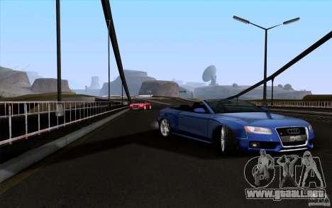 Audi S5 Cabriolet 2010 para la visión correcta GTA San Andreas