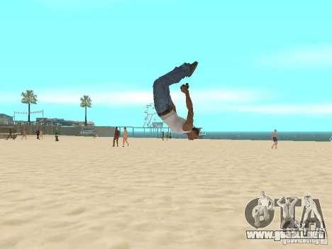 Parkour 40 mod para GTA San Andreas segunda pantalla
