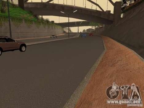 Nuevos caminos en la calle Grove para GTA San Andreas tercera pantalla