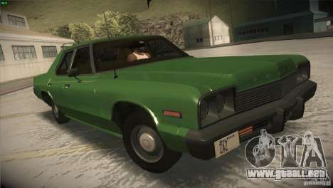 Dodge Monaco para vista lateral GTA San Andreas