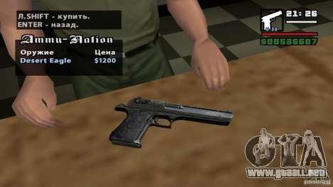 Asamblea de HD para GTA San Andreas sucesivamente de pantalla