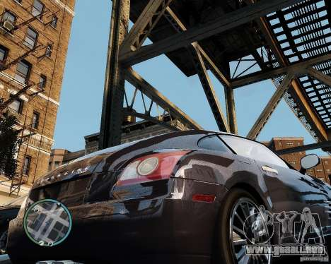 2007 Chrysler Crossfire para GTA 4 visión correcta