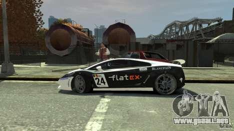 Lamborghini Gallardo SE Threep Edition [EPM] para GTA 4 vista desde abajo