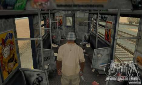 GTA IV Enterable Train para la vista superior GTA San Andreas