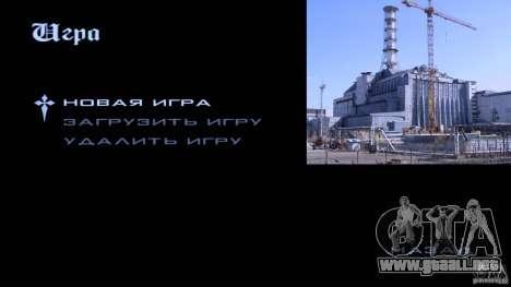 Pantallas de carga Chernobyl para GTA San Andreas octavo de pantalla