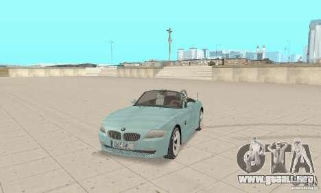 BMW Z4 Roadster 2006 para GTA San Andreas