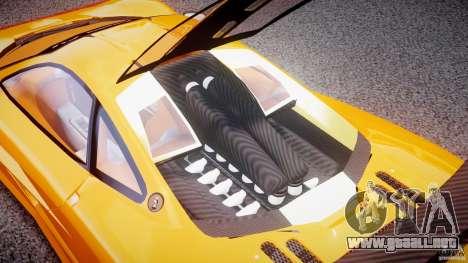 Mc Laren F1 LM v1.0 para GTA 4 vista hacia atrás
